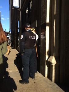 Police outside copy